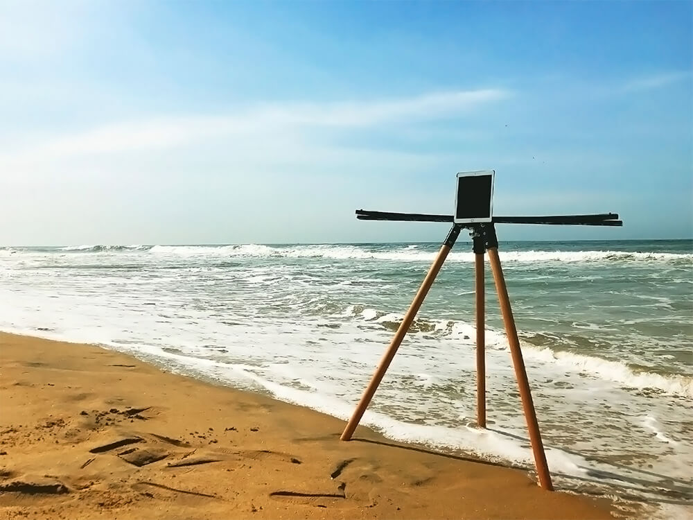 Boomarray Rig at the Beach