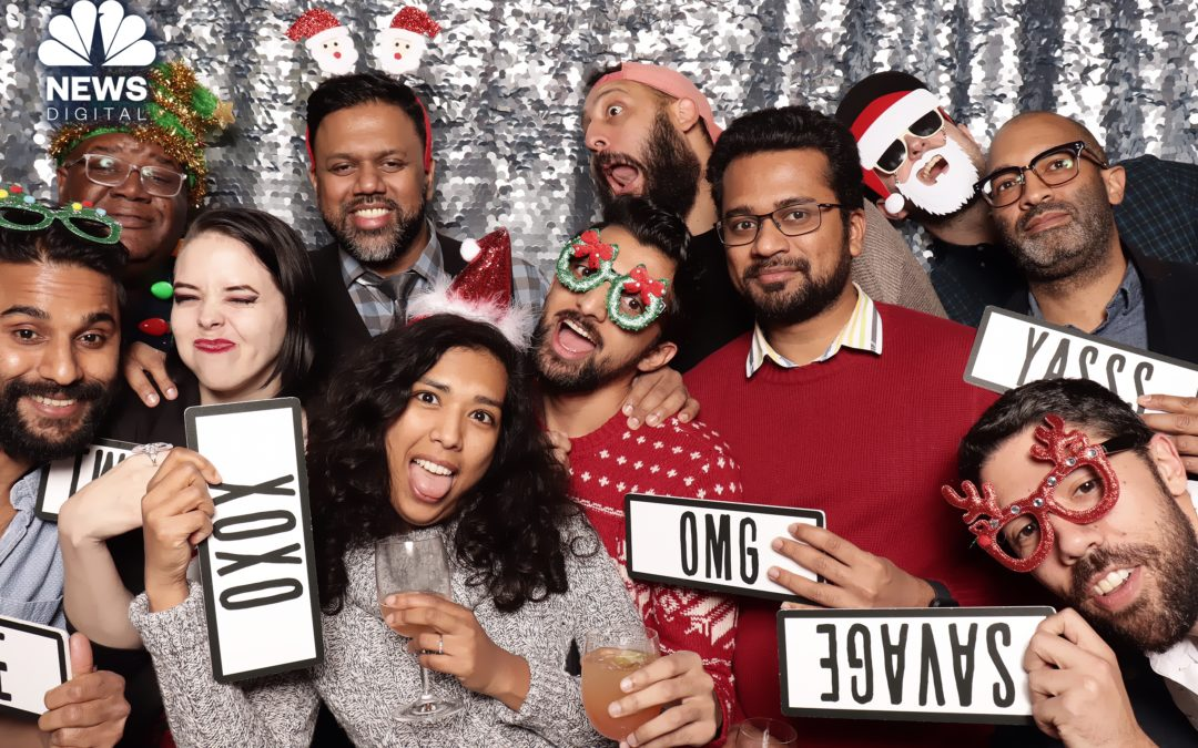 NBC News Digital Holiday Party